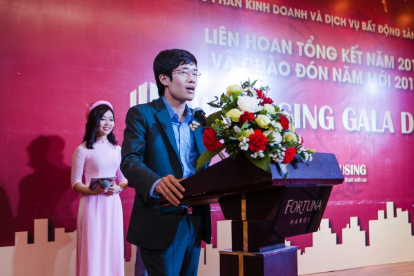 Vũ Huy Khoái - giám đốc công ty bất động sản nhà mới